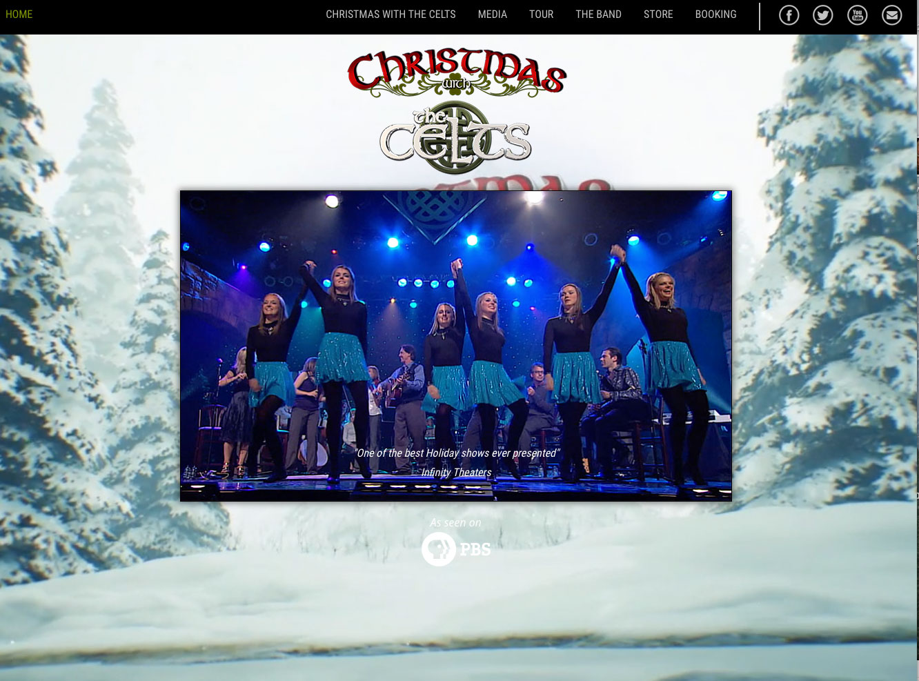 new website update for christmas with the celts - Christmas With The Celts